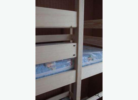 Кровать детская двухъярусная в Новосибирске фото 5