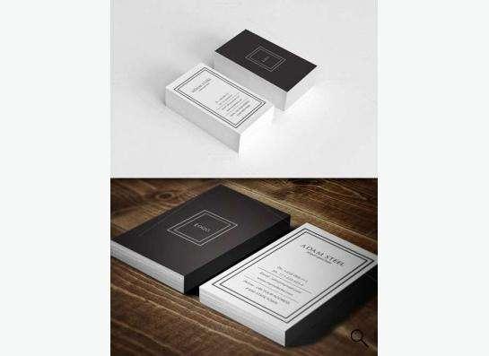Печать визиток и листовок