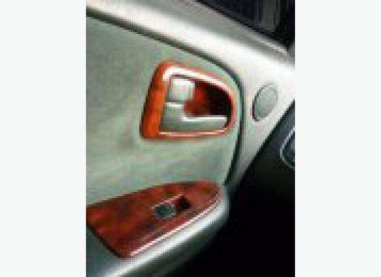Реставрация декоративных вставок в салоне авто.