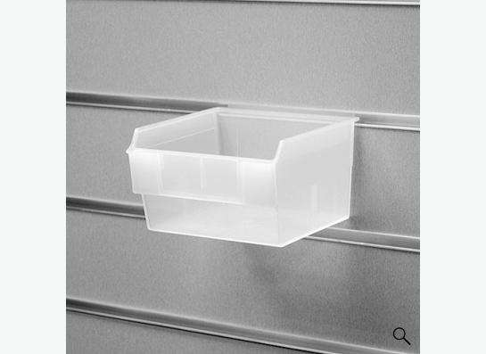 Короб для экономпанели - пластиковый  прозрачный 130*140*85