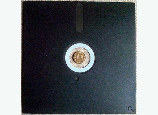 8-ми дюймовая дискета