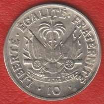 Гаити 10 сантимов 1958 г. Филадельфия, в Орле