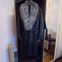Пальто из натуральной кожи, в г.Борисов