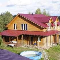двухэтажный коттедж с баней в поселке Юкки, в Всеволожске