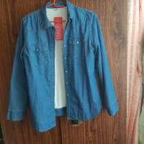 Рубашка джинсовая флис, в Иркутске