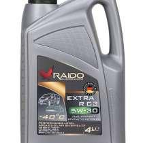 RAIDO Extra R 5W-30 C3 - синтетическое моторное масло 4 л, в г.Алматы