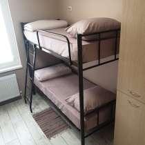 Кровати двухъярусные, односпальные Новые для хостелов, в Ейске