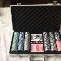 Набор для покера на 300 фишек керамика, в Москве