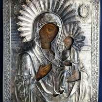 Старинный образ Матери Божией, в Москве