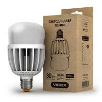 Светодиодная лампа (LED) Videx A80 30W E27 6000K 220V матова, в г.Чугуев