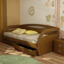 Угловая кровать с ящиком или доп. спальным местом, в Москве
