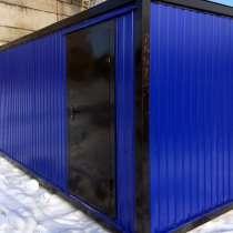 Блок-контейнер Баня 6,0х2,4х2,5 м, в Череповце