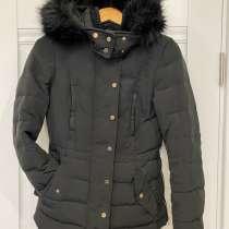 Женское пальто Zara чёрное xs, в Реутове