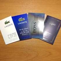 Продам новые пробники мужские набором Lacoste, Hugo Boss, в Красноярске