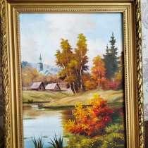 Картина маслом на холсте, в Москве