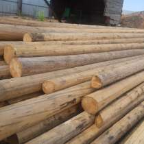 Опора деревянная пропитанная, в Томске