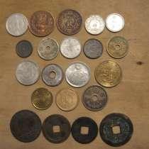 НАБОР: 22 монеты Японии с 1768 по 2008 гг, в Москве