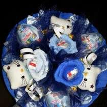 Ручные букеты из конфет, в Челябинске