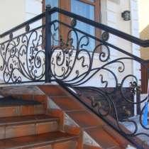 Металлические лестницы и перила кованые и из нержавейки, в Москве