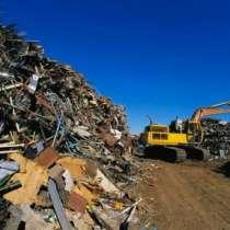 Вывоз металлолома с территории клиента, в Москве