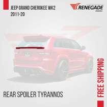 Spoiler para Jeep Grand Cherokee WK2, в г.Петрополис