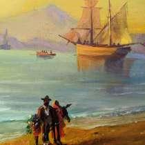 Картина маслом копия Айвазовский «Неаполитанский залив», в Москве