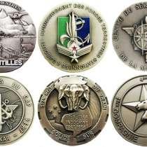 Лот-2. Французские полковые настольные медали, в Москве