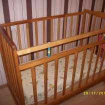 Детская кроватка с матрасом, в г.Брест