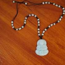 Ожерелье с кулоном * Будда * натуральный нефрит, в г.Харьков