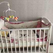 Детская кровать, в хорошем виде) использовали 1год, в Мытищи