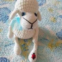 Вязаная зефирная овечка, в Энгельсе