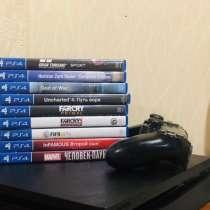 PS4 slim 1 tb + игры, в Альметьевске