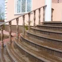 Лестницы из натурального камня: гранит, мрамор, травертин, в г.Харьков