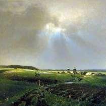Репродукция картины Васнецова «После дождя», в Иркутске
