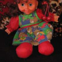 кукла показывающая язык, в г.Кривой Рог