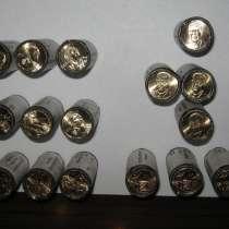 Монеты 1 доллар США в роллах. опт, в Санкт-Петербурге