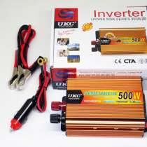 Инвертор UKC 500W 24V Преобразователь тока AC/DC Gold, в г.Киев