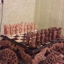 Продам шахматы ручной работы из кедра, в Сочи