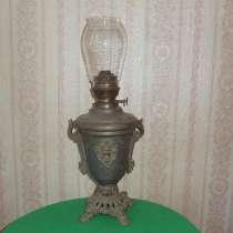 Антикварная керосиновая лампа начало 19 век Германия, в Ростове-на-Дону