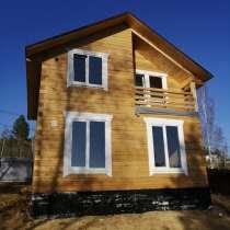 Прекрасный Брусовой дом в Дзержинске, в Иркутске