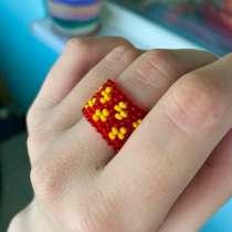 Кольцо из бисера, в Таганроге