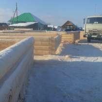 Срубы домов и бань, в Перми