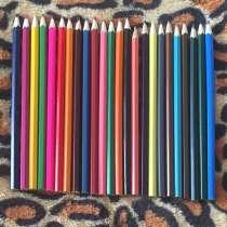 Цветные фломастеры и карандаши, в Омске