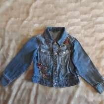 Джинсовая куртка для девочки 4-5 лет, в Москве