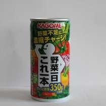 Овощной сок TM KAGOME в жестяной банке, 190 мл(Япония), в Владивостоке