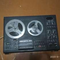 Катушечный магнитофон Снежеть 204, в Самаре