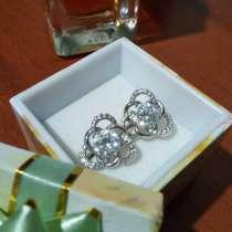 Серьги серебряные, в Ачинске