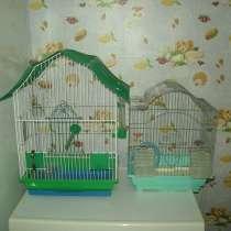 Две клетки для попугаев, в г.Горловка