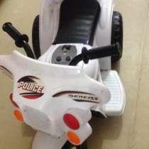 Продаю детский мотоцикл, с зарядным устройством, в Саранске
