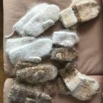 Вяжу и продаю носки,тапочки-следки,рукавички из шерсти собак, в Екатеринбурге